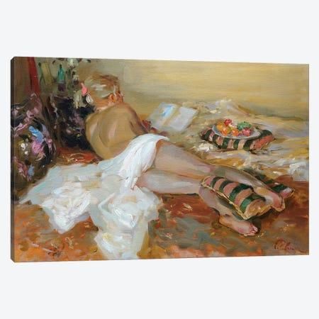 Sieste Canvas Print #IZH39} by Igor Zhuk Canvas Wall Art