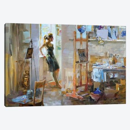 Art Mess Canvas Print #IZH4} by Igor Zhuk Canvas Artwork