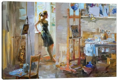 Art Mess Canvas Art Print