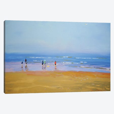 The Horizon Canvas Print #IZH50} by Igor Zhuk Canvas Art