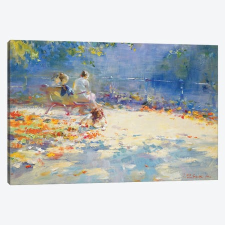 Warm September Canvas Print #IZH57} by Igor Zhuk Canvas Art Print