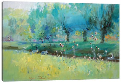 Wild Geese Canvas Art Print