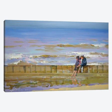 Windy Beach Canvas Print #IZH60} by Igor Zhuk Canvas Art Print