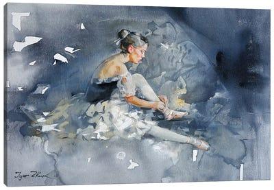 Balerina Canvas Art Print