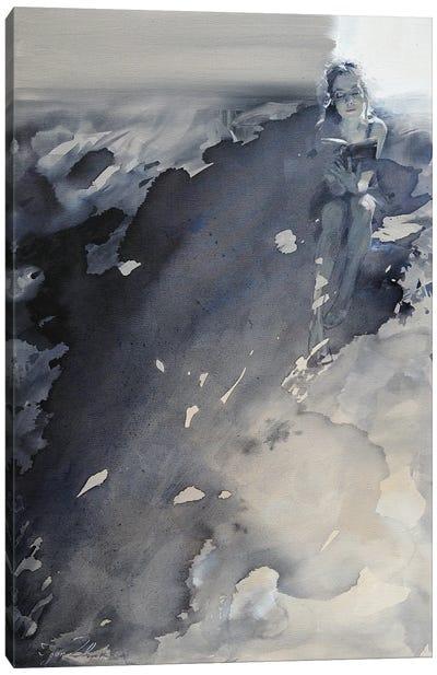 À contre-lumiere Canvas Art Print