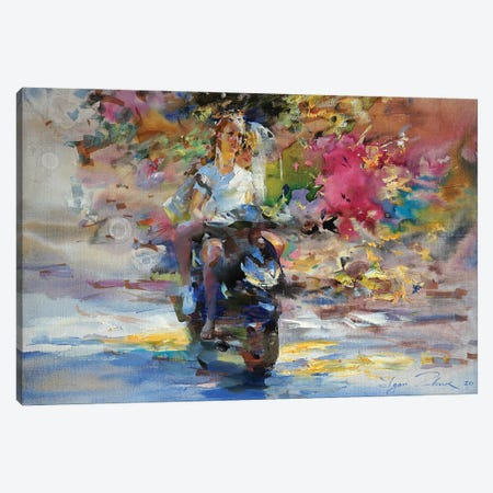 """The Colored Wind"" Canvas Print #IZH70} by Igor Zhuk Canvas Artwork"