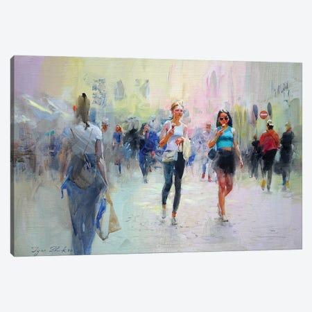 A Sunny Day Canvas Print #IZH72} by Igor Zhuk Canvas Art