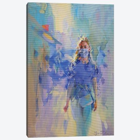 Safety Walk Canvas Print #IZH73} by Igor Zhuk Canvas Artwork