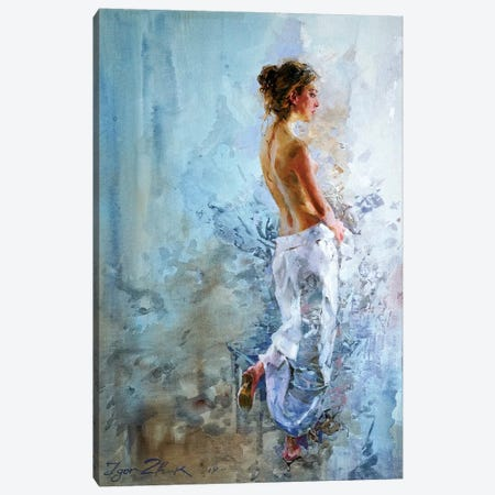 At The Window Canvas Print #IZH7} by Igor Zhuk Canvas Artwork