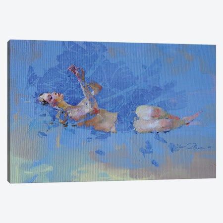 Sapphire Canvas Print #IZH84} by Igor Zhuk Canvas Artwork