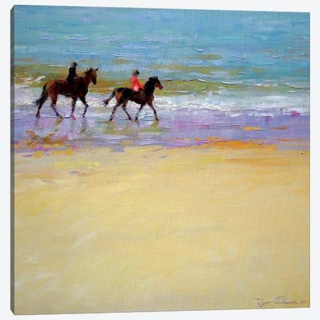 Ride At Beach Canvas Print #IZH90} by Igor Zhuk Canvas Art