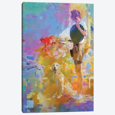 Cafe Mosaic II Canvas Print #IZH94} by Igor Zhuk Canvas Print