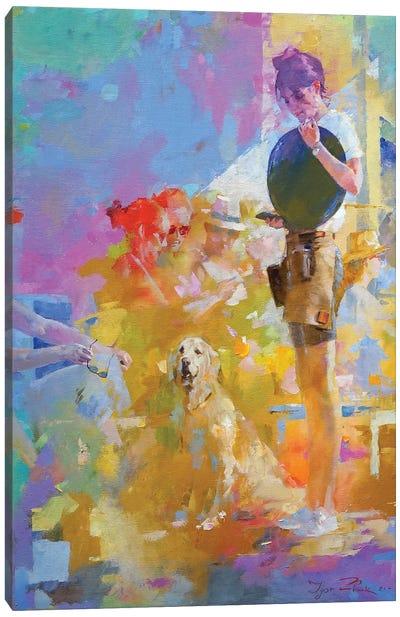 Cafe Mosaic II Canvas Art Print