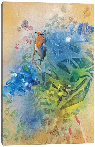 Summer IV Canvas Art Print