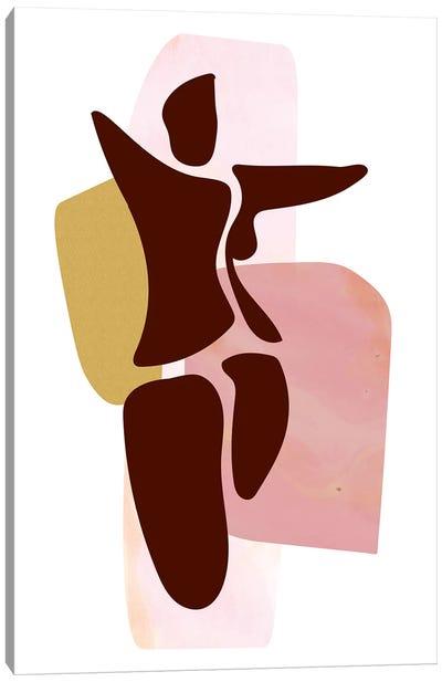 Figure Standing Canvas Art Print