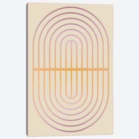 Gradient Posters Pastel I Canvas Print #IZP15} by Izabela Pichotka Canvas Print