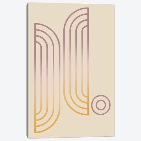 Gradient Posters Pastel II Canvas Print #IZP16} by Izabela Pichotka Canvas Print