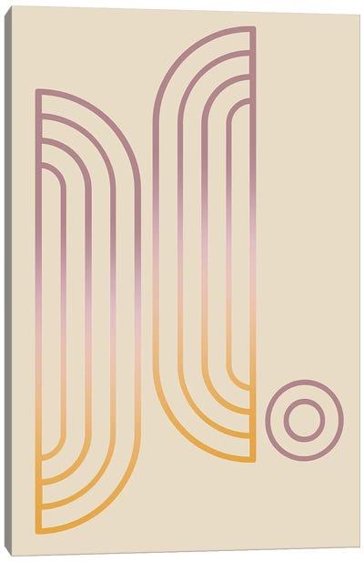 Gradient Posters Pastel II Canvas Art Print