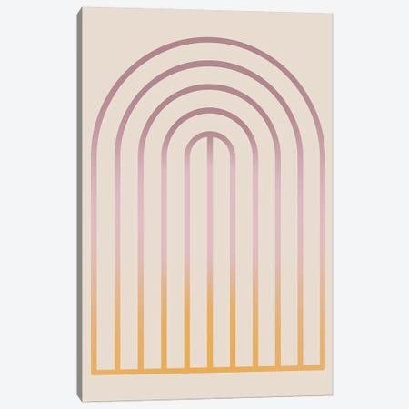 Gradient Posters Pastel III Canvas Print #IZP17} by Izabela Pichotka Canvas Art Print