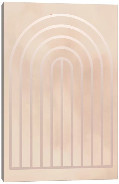 Gradient Smoke Posters I Canvas Art Print