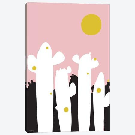 Cactus Country Canvas Print #IZP1} by Izabela Pichotka Canvas Wall Art