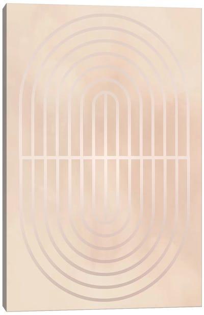 Gradient Smoke Posters III Canvas Art Print