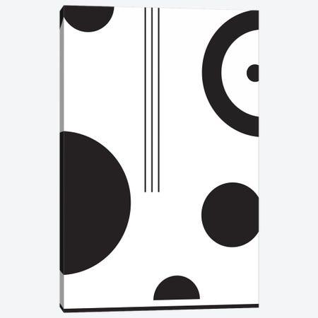 Laslo IV In Black & White Canvas Print #IZP25} by Izabela Pichotka Canvas Art