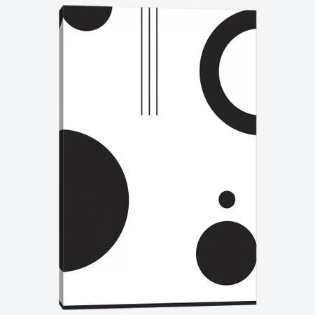 Laslo VI In Black & White Canvas Print #IZP28} by Izabela Pichotka Canvas Art Print
