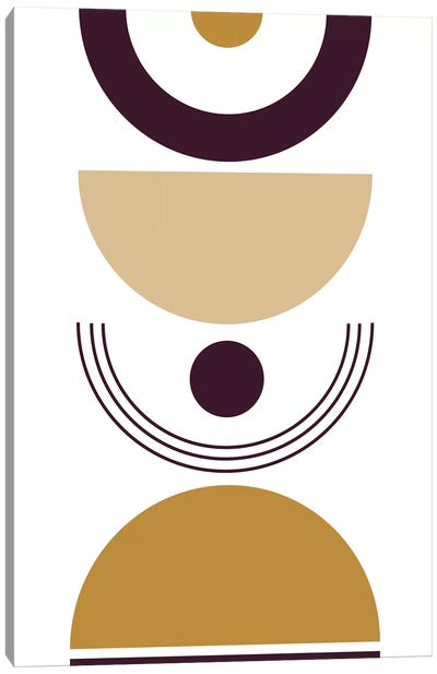 Senf Wine II Canvas Art Print