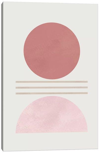 Zen In Beige I Canvas Art Print