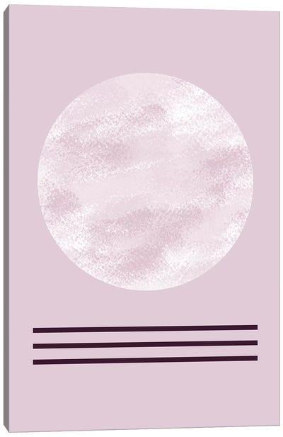 Zen In Mauve II Canvas Art Print