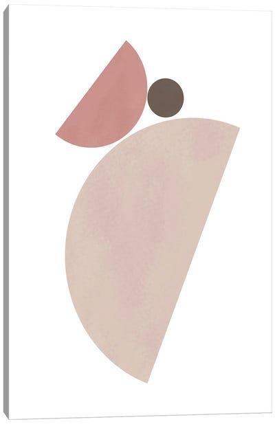Tilted Bowls Canvas Art Print