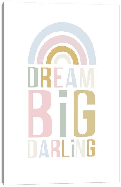 Dream Big Darling Canvas Art Print
