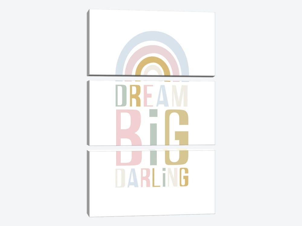 Dream Big Darling by Izabela Pichotka 3-piece Canvas Artwork