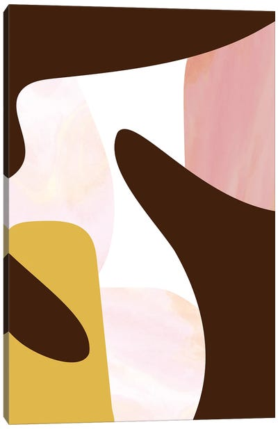 Abstract Forms Canvas Art Print