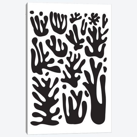 Coral Posters Wide II Canvas Print #IZP7} by Izabela Pichotka Art Print