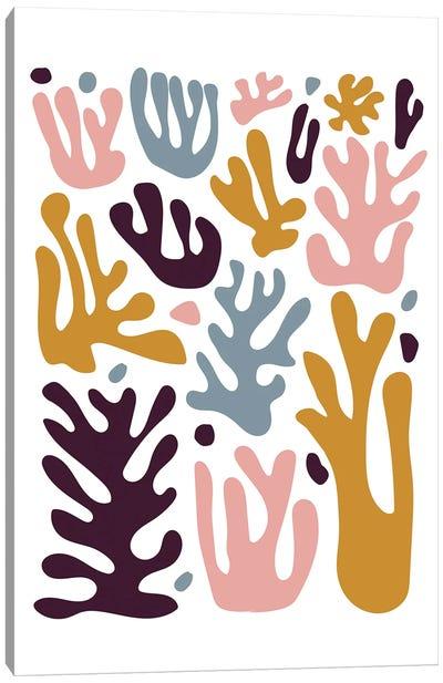Coral Senf Canvas Art Print