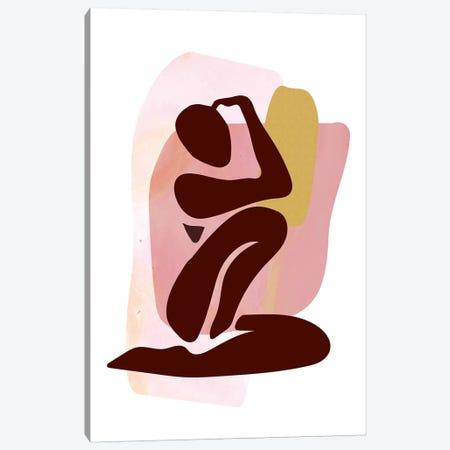 Figure Seated Canvas Print #IZP9} by Izabela Pichotka Canvas Art