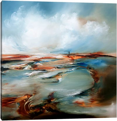 Swirling Canvas Art Print
