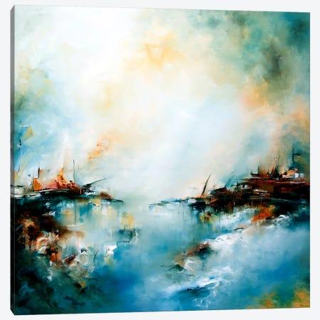 Mekong Delta Canvas Print #JAB14} by J.A Art Art Print