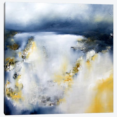 Winter's Edge Canvas Print #JAB18} by J.A Art Canvas Wall Art