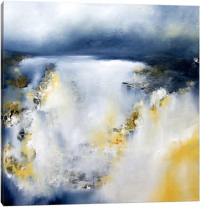 Winter's Edge Canvas Art Print