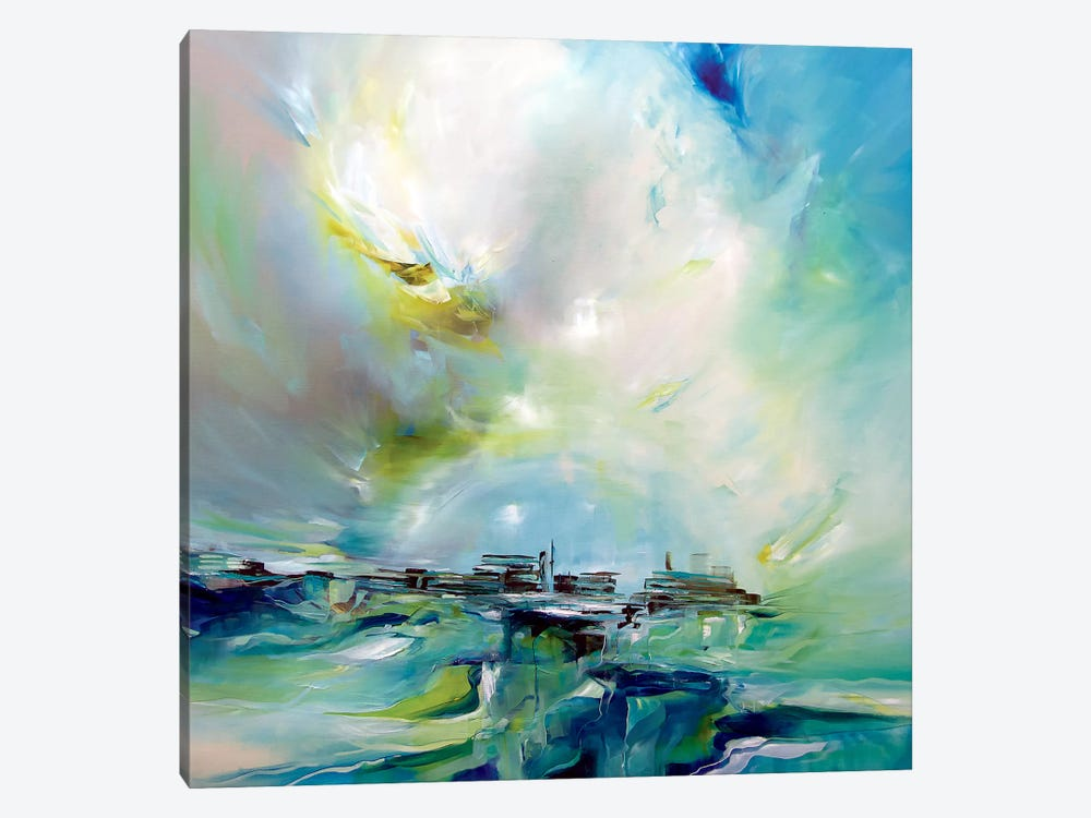 Spring Light by J.A Art 1-piece Canvas Wall Art