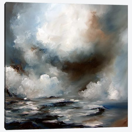 Storm Canvas Print #JAB25} by J.A Art Canvas Artwork