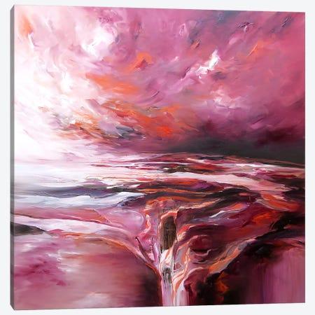 Sunset Bay Canvas Print #JAB27} by J.A Art Canvas Art