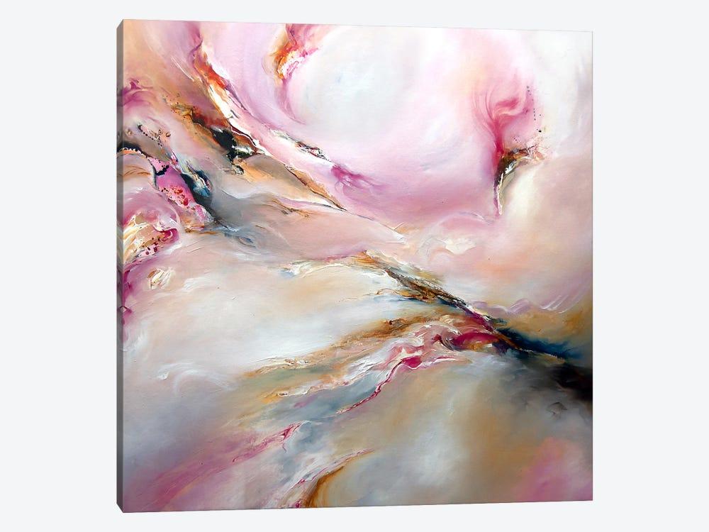 Pink Haze by J.A Art 1-piece Canvas Print