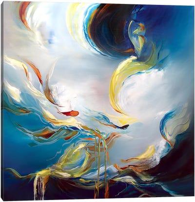 Water's Movement Canvas Print #JAB34