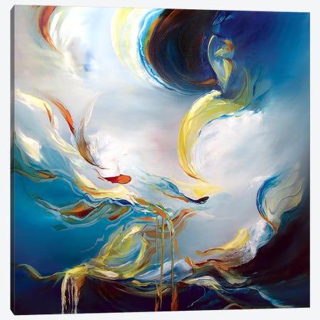 Water's Movement Canvas Print #JAB34} by J.A Art Canvas Art Print