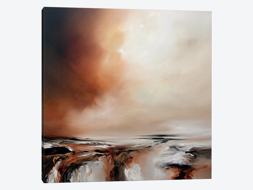 Sunset Drama by J.A Art 1-piece Canvas Artwork