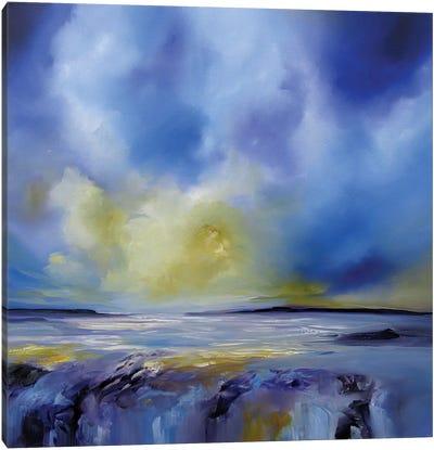 Blue Symphony I Canvas Print #JAB40